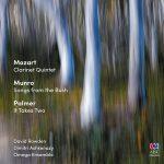 クラリネット奏者デイヴィッド・ローデン、ディミトリ・アシュケナージの「モーツァルト:クラリネット五重奏曲ほか」がナクソス・ミュージック・ライブラリーに追加