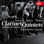 クラリネット奏者リュドミラ・ペテルコヴァ(Ludmilla Peterkova)の「モーツァルト/ライヒャ/クカル:クラリネット五重奏曲集」がナクソス・ミュージック・ライブラリーに追加