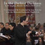 スティーヴン・メリロ(Stephen Melillo)の吹奏楽と合唱のための作品「In the Darkest Darkness」初演の映像が公開