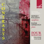 サクソフォーン奏者セルゲイ・コレソフ(Sergey Kolesov)の「Contrasts」がナクソス・ミュージック・ライブラリーに追加