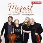 フルート奏者リサ・フレンド(Lisa Friend)の「モーツァルト:フルート四重奏曲集」がナクソス・ミュージック・ライブラリーに追加