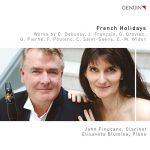 クラリネット奏者ジョン・ファヌーカン(John Finucane)の「French Holidays」がナクソス・ミュージック・ライブラリーに追加