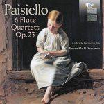 フルート奏者ガブリエレ・フォルメンティ(Gabriele Formenti)の「パイジェッロ:フルート四重奏曲第1番 – 第6番」がナクソス・ミュージック・ライブラリーに追加