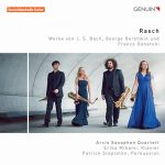 アルシス・サクソフォン四重奏団(Arcis Saxophone Quartet)の「Rasch」がナクソス・ミュージック・ライブラリーに追加