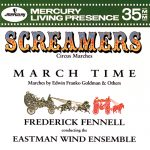 イーストマン・ウィンド・アンサンブル(Eastman Wind Ensemble)の「Screamers」がナクソス・ミュージック・ライブラリーに追加
