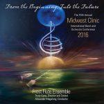 「第70回ミッドウェスト・クリニック 2016 – フロスト・フルート・アンサンブル」がナクソス・ミュージック・ライブラリーに追加
