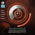 ノース・テキサス・ウィンド・シンフォニーの「Inventions」がナクソス・ミュージック・ライブラリーに追加