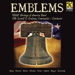 アメリカ空軍ヘリテージ・オブ・アメリカ・バンド (United States Air Force Heritage of America Band)の「Emblems」がナクソス・ミュージック・ライブラリーに追加