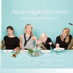 シレーネ・サクソフォン四重奏団(Syrene Saxophone Quartet)の「Fresh, Sweet and Sturdy」がナクソス・ミュージック・ライブラリーに追加