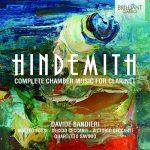 クラリネット奏者ダヴィデ・バンディエーリ(Davide Bandieri)の「ヒンデミット:クラリネットのための室内楽作品集」がナクソス・ミュージック・ライブラリーに追加