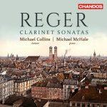 クラリネット奏者マイケル・コリンズ(Michael Collins)の「レーガー:クラリネット・ソナタ集」がナクソス・ミュージック・ライブラリーに追加