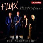 イギリスからの新星!フェリオ・サクソフォン四重奏団(Ferio Saxophone Quartet)の「Flux」がナクソス・ミュージック・ライブラリーに追加