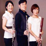 NHK交響楽団の木管アンサンブル「トリオ・サンクファンシュ」が兵庫県加東市のコスミックホールにて演奏会を開催(2017/9/10:コスミックホール)