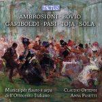 フルート奏者クラウディオ・オルテンシ(Claudio Ortensi)の「Flute and Harp Recital」がナクソス・ミュージック・ライブラリーに追加