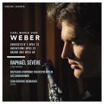 クラリネット奏者ラファエル・セヴェール(Raphael Severe)の「ウェーバー作品集」がナクソス・ミュージック・ライブラリーに追加