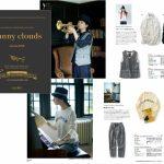 『Sunny clouds』に秋の新作。Autumn 2016のテーマはMUSIC OF THE SEASON、音楽がテーマ。音符や五線紙をモチーフとした服を企画