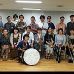 日本人初のサクバット・リサイタルを開催した宮下宣子(サクバット)が濱田芳通(コルネット)とともにコルネット&サクバットのセミナーを開催(10/8~10/10)