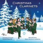 マーク・カスタム(Mark Records)より、フロリダ大学クラリネット・アンサンブル「Christmas Clarinets」が発売