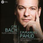 フルート奏者エマニュエル・パユ(Emmanuel Pahud)の新譜「C.P.E. Bach: Flute Concertos」がiTunes/Apple Musicに追加