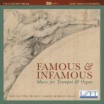 トランペット奏者フレッド・ザウター(Fred Sautter)の「Famous and Infamous」がナクソス・ミュージック・ライブラリーに追加