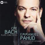 フルート奏者エマニュエル・パユ(Emmanuel Pahud)の「C.P.E. バッハ:フルート協奏曲集」がナクソス・ミュージック・ライブラリーに追加