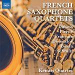 ケナリ四重奏団(Kenari Quartet)の「French Saxophone Quartets」がナクソス・ミュージック・ライブラリーに追加