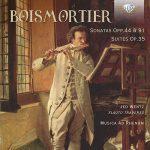 フルート奏者イェド・ヴェンツ(Jed Wentz)の「ボワモルティエ:フルート・ソナタ集」がナクソス・ミュージック・ライブラリーに追加