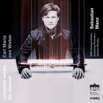 クラリネット奏者セバスティアン・マンツ(Sebastian Manz)の「ウェーバー:クラリネット作品全集」がナクソス・ミュージック・ライブラリーに追加