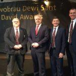 コーリー・バンドがウェールズ政府から贈られる賞「National St David Award」にノミネート