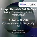 クラリネット奏者カール・シュレヒタ(Karl Schlechta)の「ベールマン/ライヒャ:クラリネット五重奏曲」がナクソス・ミュージック・ライブラリーに追加