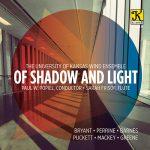 カンザス大学ウィンド・アンサンブルの「Of Shadow and Light」がナクソス・ミュージック・ライブラリーに追加