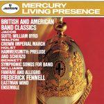 イーストマン・ウィンド・アンサンブル(Eastman Wind Ensemble)の「British And American Band Classics」がナクソス・ミュージック・ライブラリーに追加