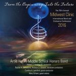 「第68回ミッドウェスト・クリニック 2016 – アーティー・ヘンリー・ミドルスクール・オナーズ・バンド」がナクソス・ミュージック・ライブラリーに追加