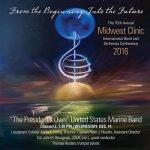 「第68回ミッドウェスト・クリニック 2016 – アメリカ海兵隊バンド Concert 2」がナクソス・ミュージック・ライブラリーに追加