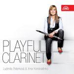 クラリネット奏者リュドミラ・ペテルコヴァー(Ludmilla Peterkova)の「Playful Clarinet」がナクソス・ミュージック・ライブラリーに追加