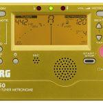 株式会社コルグより、日々の練習を支えるチューナー/メトロノームTM-50 に抜群の存在感を示すゴールド・モデルが登場!
