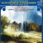 フルート奏者アンドラーシュ・アドリヤン(Andras Adorjan)の「C.P.E. バッハ:フルート協奏曲集」がナクソス・ミュージック・ライブラリーに追加