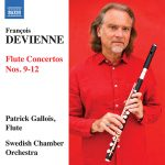 フルート奏者パトリック・ガロワ(Patrick Gallois)の「ドヴィエンヌ:フルート協奏曲集 3 – 第9番 – 第12番」がナクソス・ミュージック・ライブラリーに追加
