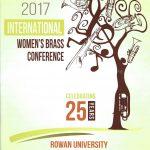 【写真あり】ミサ・ミード氏(Misa Mead)も参加した2017年の国際女性ブラス・カンファレンス(International Women's Brass Conference)が終了