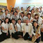 ジャカルタジャパン吹奏楽団が8月に開催されたIndonesia Orchestra Ensemble Festival 2017にてBest Group Performance賞を受賞!