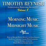 「ティモシー・レイニッシュ・インターナショナル・レパートリー・レコーディングス 8」がナクソス・ミュージック・ライブラリーに追加