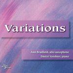 サクソフォーン奏者アン・ブラッドフィールド(Ann Bradfield)の「Variations」がナクソス・ミュージック・ライブラリーに追加