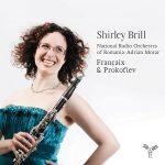 クラリネット奏者シャーリー・ブリル(Shirley Brill)の「フランセ/プロコフィエフ:クラリネット作品集」がナクソス・ミュージック・ライブラリーに追加