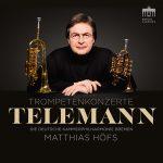 トランペット奏者マティアス・ヘフスの「テレマン:トランペット協奏曲集」がナクソス・ミュージック・ライブラリーに追加