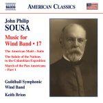 「スーザ:吹奏楽のための作品集 16」がナクソス・ミュージック・ライブラリーに追加