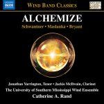 南ミシシッピ大学ウィンド・アンサンブルの「Alchemize」がナクソス・ミュージック・ライブラリーに追加