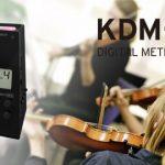 【アクセサリ】クラシックなデザインに、デジタルならではの操作性。株式会社コルグより最新デジタルメトロノーム「KDM-3」が発売