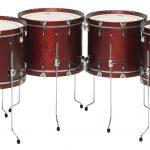 高さや形状に左右されず自由度の高いセッティングができる、コンサートバスドラムの特別生産モデル ヤマハ コンサートフロアバスドラム『FB-9000シリーズ』が発売(2018/5/10)